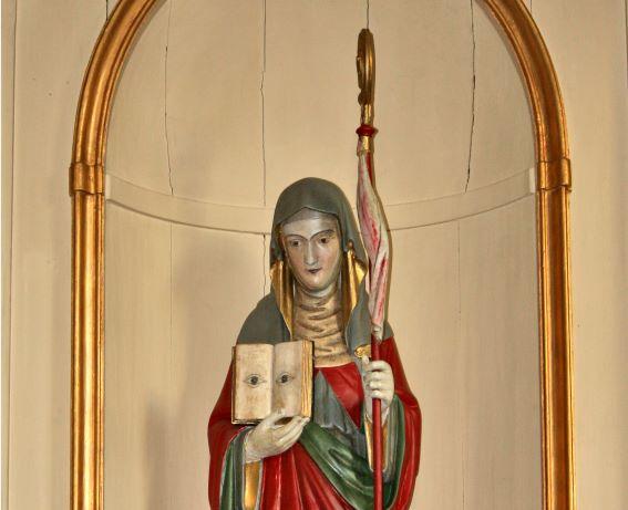 Segnung mit den Reliquien der Heiligen Odilia